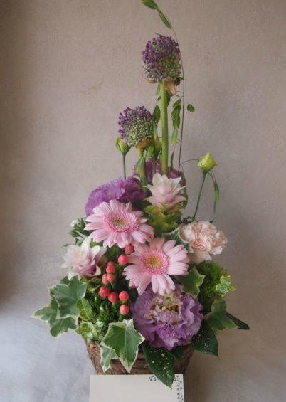 花ギフト|フラワーギフト|誕生日 花|カノシェ話題|スタンド花|ウエディングブーケ|花束|花屋|48477