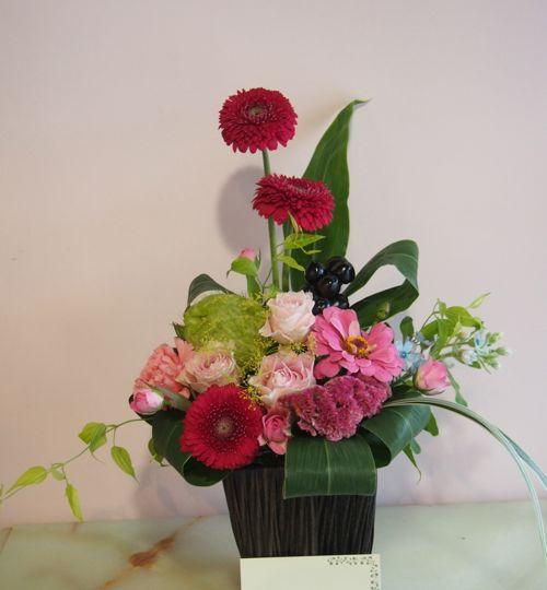 花ギフト|フラワーギフト|誕生日 花|カノシェ話題|スタンド花|ウエディングブーケ|花束|花屋|58082