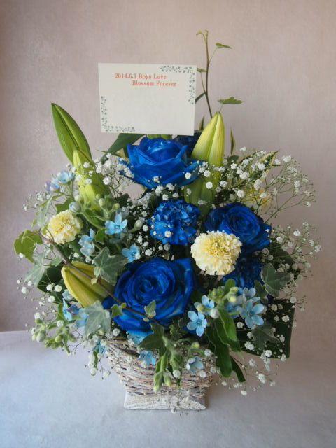 花ギフト|フラワーギフト|誕生日 花|カノシェ話題|スタンド花|ウエディングブーケ|花束|花屋|40916