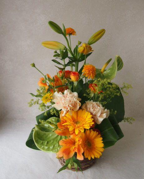 花ギフト|フラワーギフト|誕生日 花|カノシェ話題|スタンド花|ウエディングブーケ|花束|花屋|56581