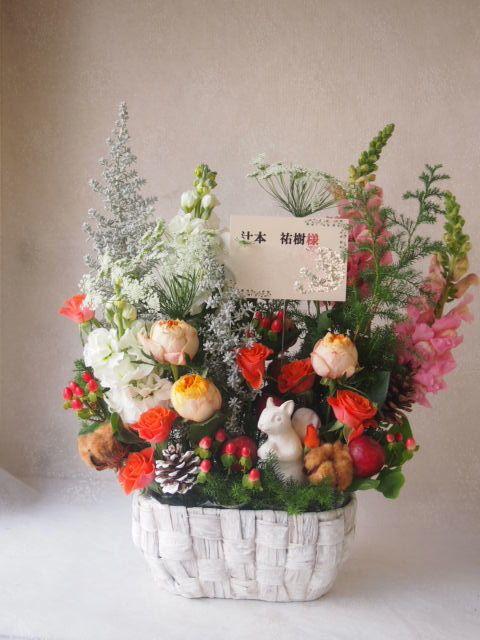 花ギフト|フラワーギフト|誕生日 花|カノシェ話題|スタンド花|ウエディングブーケ|花束|花屋|52851