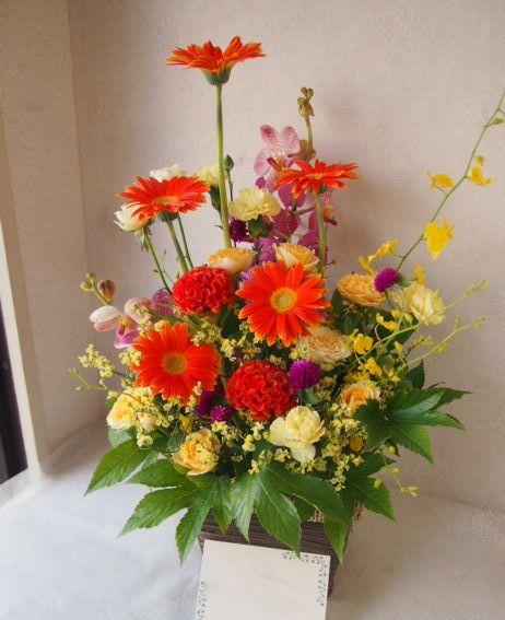 花ギフト|フラワーギフト|誕生日 花|カノシェ話題|スタンド花|ウエディングブーケ|花束|花屋|50596
