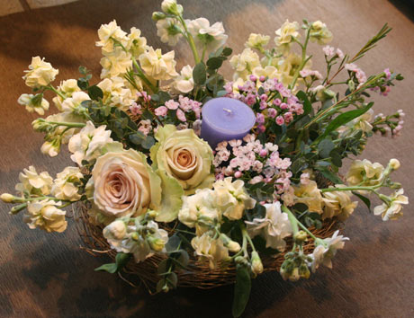花ギフト|フラワーギフト|誕生日 花|カノシェ話題|スタンド花|ウエディングブーケ|花束|花屋|なおこさんキャンドル