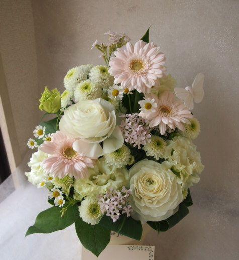 花ギフト|フラワーギフト|誕生日 花|カノシェ話題|スタンド花|ウエディングブーケ|花束|花屋|53894
