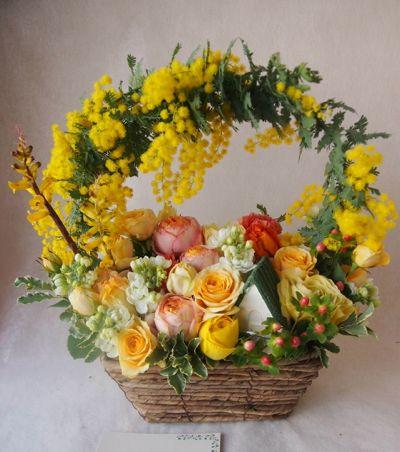 花ギフト|フラワーギフト|誕生日 花|カノシェ話題|スタンド花|ウエディングブーケ|花束|花屋|38581