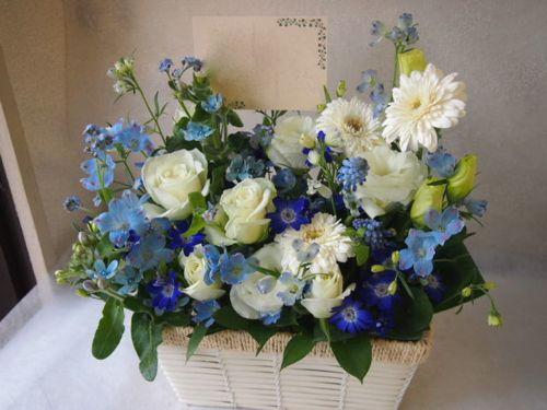花ギフト|フラワーギフト|誕生日 花|カノシェ話題|スタンド花|ウエディングブーケ|花束|花屋|53508