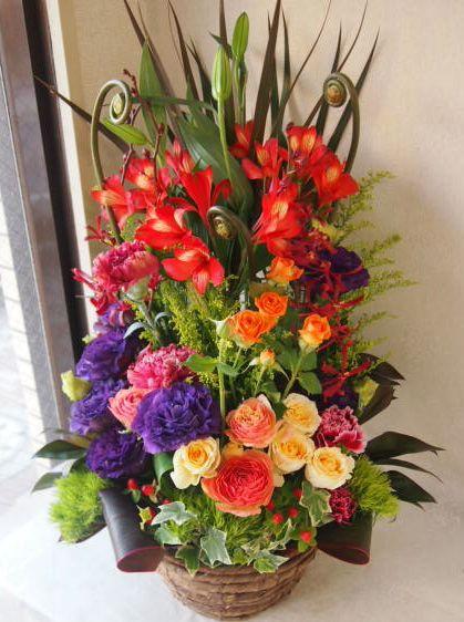 花ギフト|フラワーギフト|誕生日 花|カノシェ話題|スタンド花|ウエディングブーケ|花束|花屋|54147