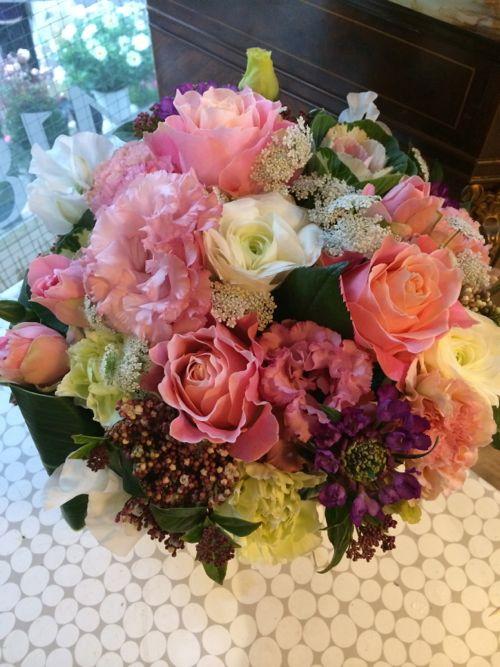 花ギフト|フラワーギフト|誕生日 花|カノシェ話題|スタンド花|ウエディングブーケ|花束|花屋|IMG_8934