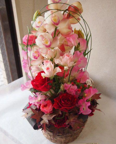 花ギフト|フラワーギフト|誕生日 花|カノシェ話題|スタンド花|ウエディングブーケ|花束|花屋|53368