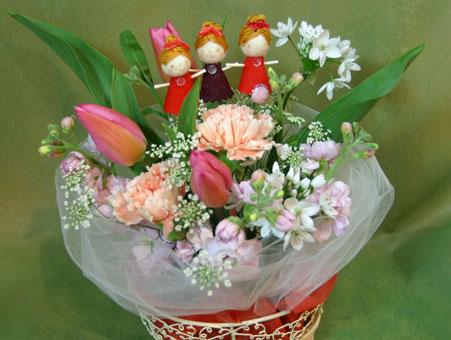花ギフト|フラワーギフト|誕生日 花|カノシェ話題|スタンド花|ウエディングブーケ|花束|花屋|バレリーナ2