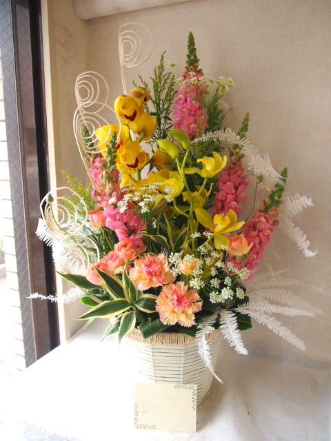 花ギフト|フラワーギフト|誕生日 花|カノシェ話題|スタンド花|ウエディングブーケ|花束|花屋|P3020486