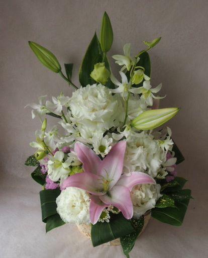花ギフト|フラワーギフト|誕生日 花|カノシェ話題|スタンド花|ウエディングブーケ|花束|花屋|41565