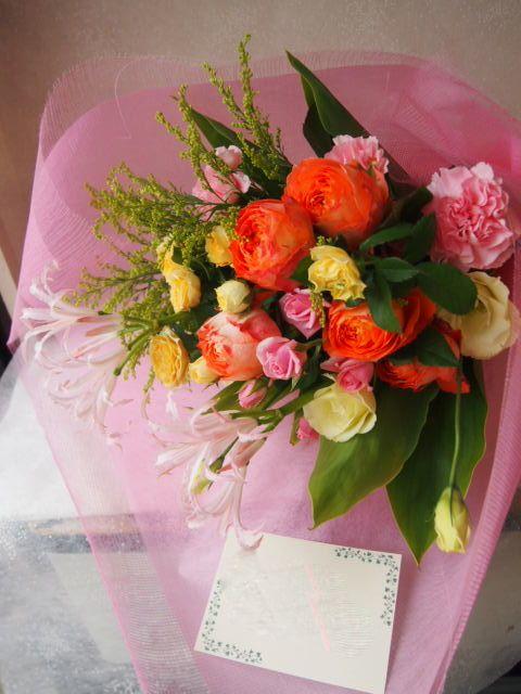 花ギフト|フラワーギフト|誕生日 花|カノシェ話題|スタンド花|ウエディングブーケ|花束|花屋|50380