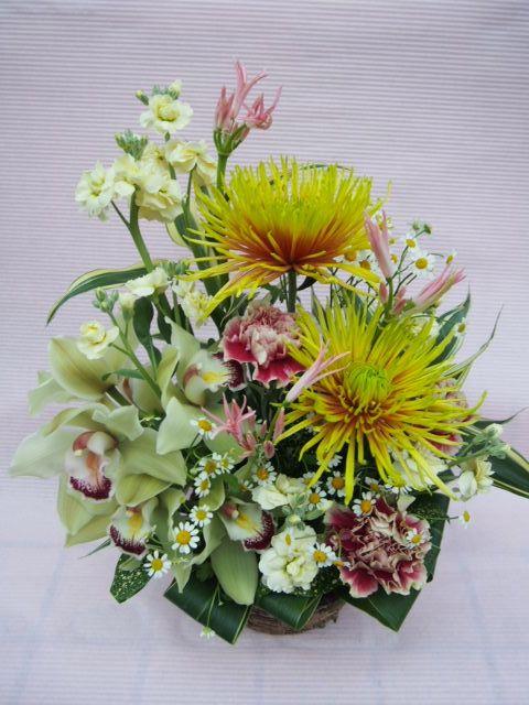 花ギフト|フラワーギフト|誕生日 花|カノシェ話題|スタンド花|ウエディングブーケ|花束|花屋|51761