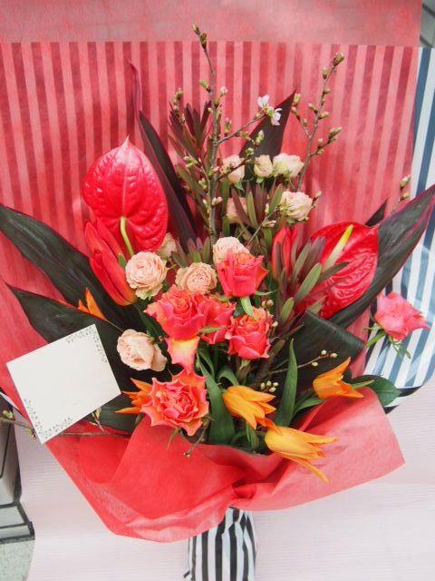 花ギフト|フラワーギフト|誕生日 花|カノシェ話題|スタンド花|ウエディングブーケ|花束|花屋|52937