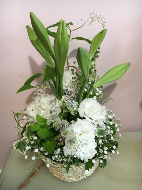 花ギフト|フラワーギフト|誕生日 花|カノシェ話題|スタンド花|ウエディングブーケ|花束|花屋|IMG_2691