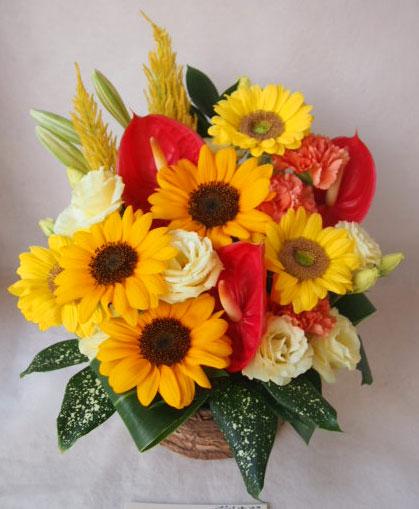 花ギフト|フラワーギフト|誕生日 花|カノシェ話題|スタンド花|ウエディングブーケ|花束|花屋|41792