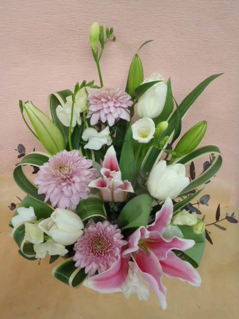 花ギフト|フラワーギフト|誕生日 花|カノシェ話題|スタンド花|ウエディングブーケ|花束|花屋|みさき3