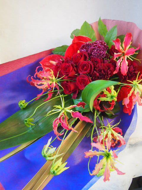 花ギフト|フラワーギフト|誕生日 花|カノシェ話題|スタンド花|ウエディングブーケ|花束|花屋|50739