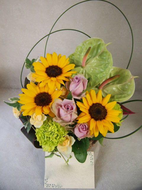 花ギフト|フラワーギフト|誕生日 花|カノシェ話題|スタンド花|ウエディングブーケ|花束|花屋|57069