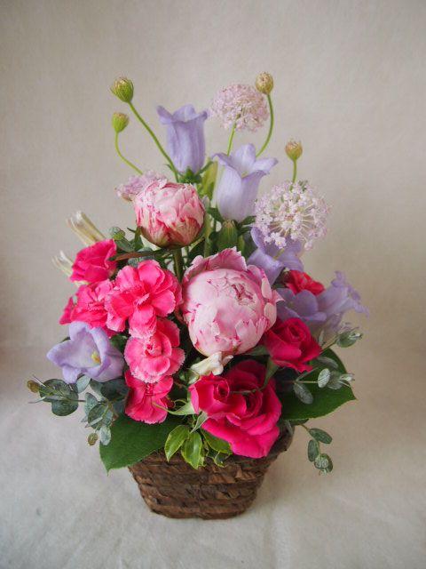花ギフト|フラワーギフト|誕生日 花|カノシェ話題|スタンド花|ウエディングブーケ|花束|花屋|40081