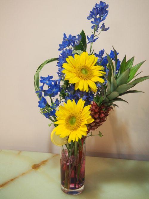 花ギフト|フラワーギフト|誕生日 花|カノシェ話題|スタンド花|ウエディングブーケ|花束|花屋|P6110289