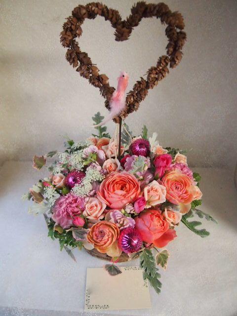 花ギフト|フラワーギフト|誕生日 花|カノシェ話題|スタンド花|ウエディングブーケ|花束|花屋|52683