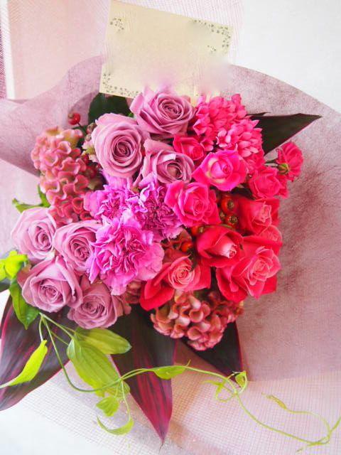 花ギフト|フラワーギフト|誕生日 花|カノシェ話題|スタンド花|ウエディングブーケ|花束|花屋|51368