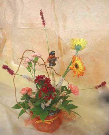 花ギフト フラワーギフト 誕生日 花 カノシェ話題 スタンド花 ウエディングブーケ 花束 花屋 KSAN