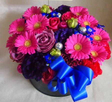 花ギフト|フラワーギフト|誕生日 花|カノシェ話題|スタンド花|ウエディングブーケ|花束|花屋|45562