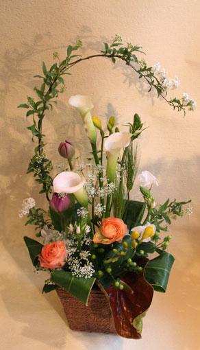 花ギフト|フラワーギフト|誕生日 花|カノシェ話題|スタンド花|ウエディングブーケ|花束|花屋|息吹