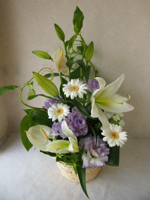 花ギフト|フラワーギフト|誕生日 花|カノシェ話題|スタンド花|ウエディングブーケ|花束|花屋|57025