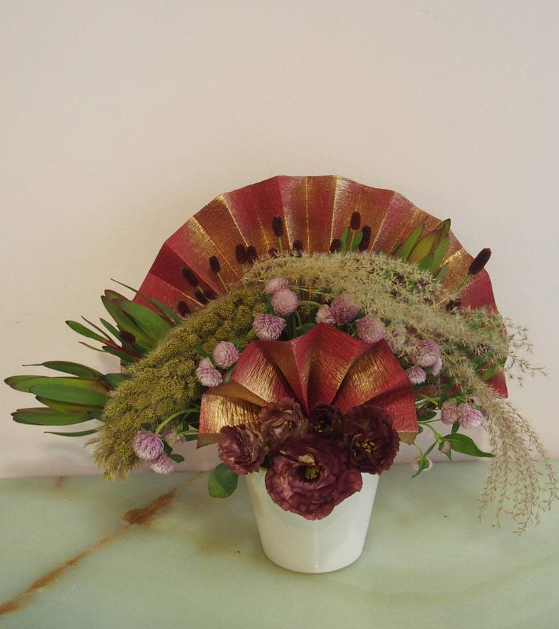 花ギフト フラワーギフト 誕生日 花 カノシェ話題 スタンド花 ウエディングブーケ 花束 花屋 P9130990