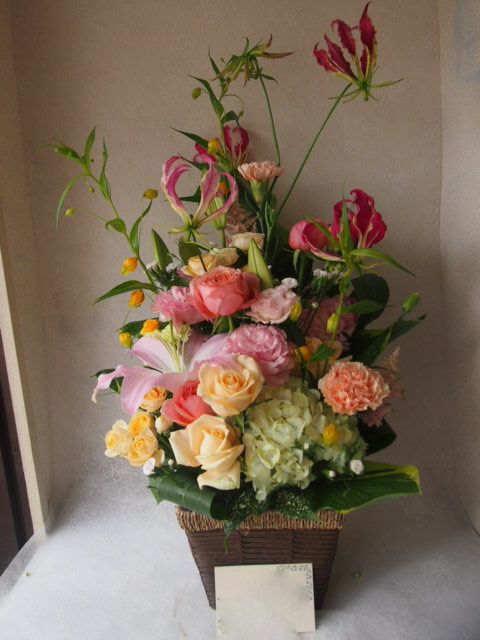 花ギフト|フラワーギフト|誕生日 花|カノシェ話題|スタンド花|ウエディングブーケ|花束|花屋|56193