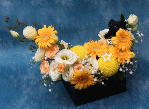 花ギフト|フラワーギフト|誕生日 花|カノシェ話題|スタンド花|ウエディングブーケ|花束|花屋|IMG_9514