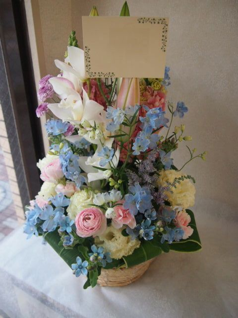 花ギフト|フラワーギフト|誕生日 花|カノシェ話題|スタンド花|ウエディングブーケ|花束|花屋|53971