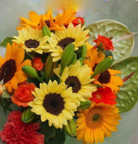 花ギフト|フラワーギフト|誕生日 花|カノシェ話題|スタンド花|ウエディングブーケ|花束|花屋|48829