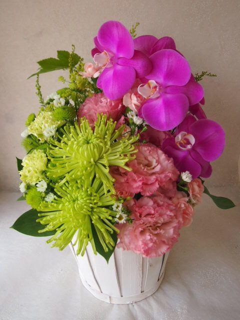 花ギフト|フラワーギフト|誕生日 花|カノシェ話題|スタンド花|ウエディングブーケ|花束|花屋|55982