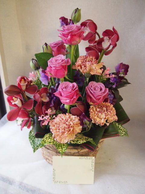 花ギフト|フラワーギフト|誕生日 花|カノシェ話題|スタンド花|ウエディングブーケ|花束|花屋|53721