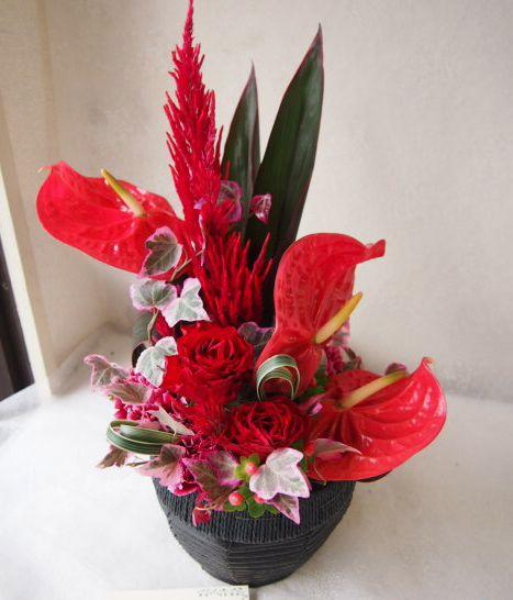 花ギフト|フラワーギフト|誕生日 花|カノシェ話題|スタンド花|ウエディングブーケ|花束|花屋|57919