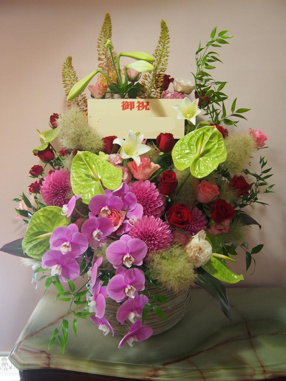 花ギフト|フラワーギフト|誕生日 花|カノシェ話題|スタンド花|ウエディングブーケ|花束|花屋|56290