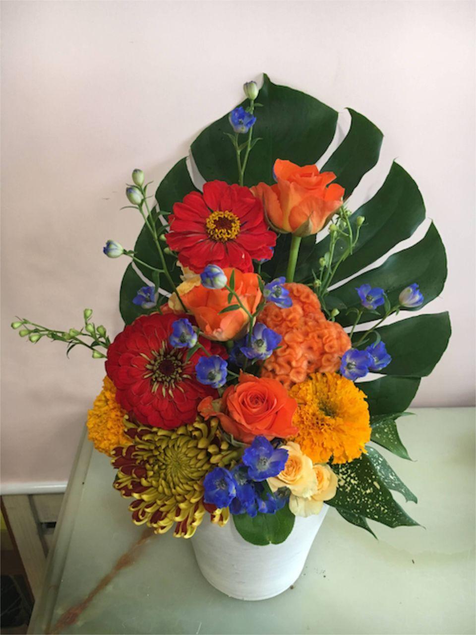 花ギフト|フラワーギフト|誕生日 花|カノシェ話題|スタンド花|ウエディングブーケ|花束|花屋|IMG_3821