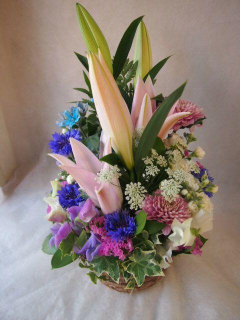 花ギフト|フラワーギフト|誕生日 花|カノシェ話題|スタンド花|ウエディングブーケ|花束|花屋|46204