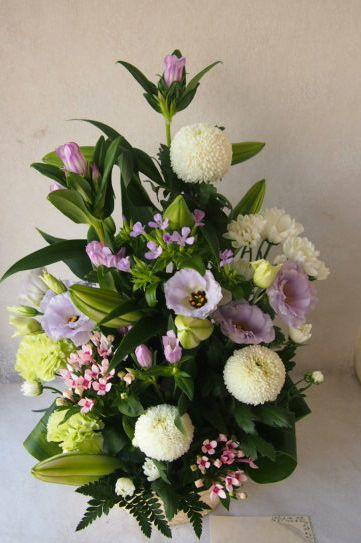花ギフト|フラワーギフト|誕生日 花|カノシェ話題|スタンド花|ウエディングブーケ|花束|花屋|57659