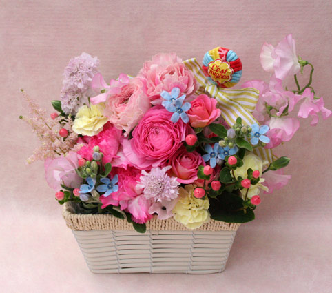 花ギフト|フラワーギフト|誕生日 花|カノシェ話題|スタンド花|ウエディングブーケ|花束|花屋|2015_w_a3