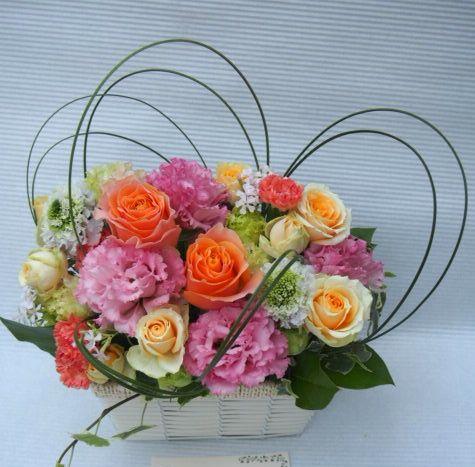花ギフト|フラワーギフト|誕生日 花|カノシェ話題|スタンド花|ウエディングブーケ|花束|花屋|54032