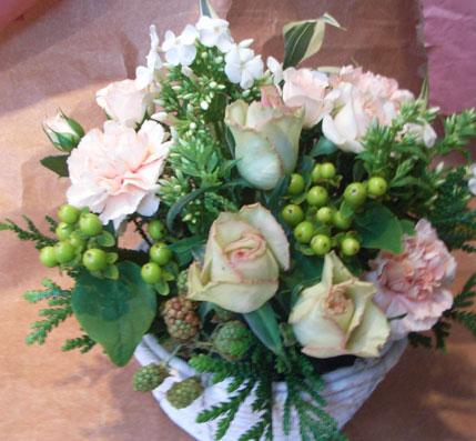 花ギフト|フラワーギフト|誕生日 花|カノシェ話題|スタンド花|ウエディングブーケ|花束|花屋|秋ベリー