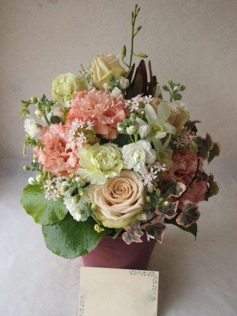 花ギフト|フラワーギフト|誕生日 花|カノシェ話題|スタンド花|ウエディングブーケ|花束|花屋|53809