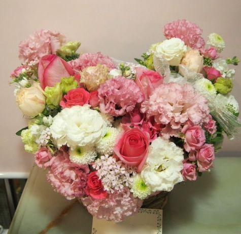 花ギフト|フラワーギフト|誕生日 花|カノシェ話題|スタンド花|ウエディングブーケ|花束|花屋|54403