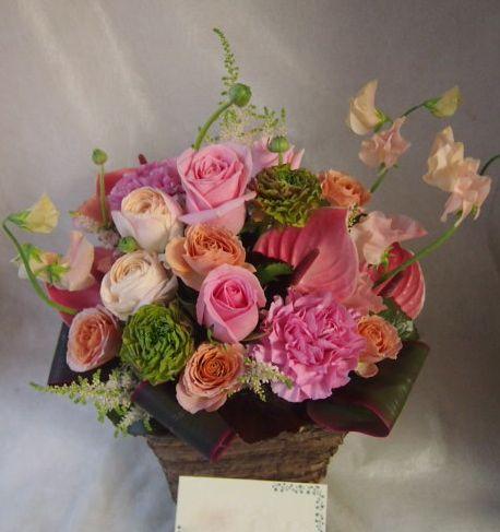 花ギフト|フラワーギフト|誕生日 花|カノシェ話題|スタンド花|ウエディングブーケ|花束|花屋|46317